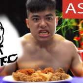 CRISPY FRIED CHICKEN TURN MAN BACK TO STONE AGE | I Eat You Watch