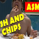 Hey! Is that Fish And Chips on the Table? | I Eat You Watch (ASMR)