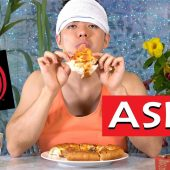 You Want A Pizza Me, Tough Guy? | I Eat You Watch (ASMR)