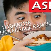 Ramen-ber to Watch Your Steps | I Eat You Watch (ASMR)