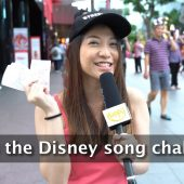 Disney Song Challenge | STREET TALK