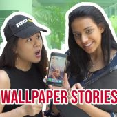 WHAT'S YOUR WALLPAPER STORY? | STREET TALK 2.0