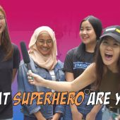 WHAT SUPERHERO ARE YOU? | STREET TALK 2.0
