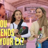 CAN YOU BE FRIENDS WITH YOUR EX? | STREET TALK 2.0