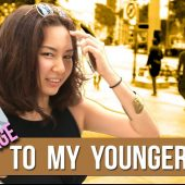 WHAT WOULD YOU SAY TO YOUR YOUNGER SELF?? | STREET TALK 2.0