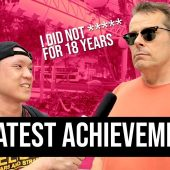 YOUR GREATEST ACHIEVEMENT?? | STREET TALK 2.0