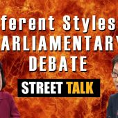 Is Singapore parliament debate OK? | Street Talk | Happy-TV