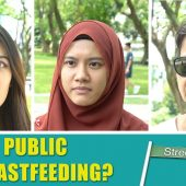 BREASTFEEDING IN PUBLIC?! | Street Talk | Happy TV