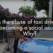 Taxi Driver Abuse  | Street Talk | Happy-TV