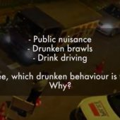 Drink Driving | Street Talk | Happy-TV