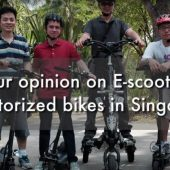 E-scooters & motorized bikes in Singapore | Street Talk | Happy-TV