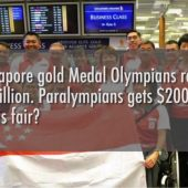 Paralympians only get $200k for winning Gold. Is this fair? | Street Talk | Happy-TV