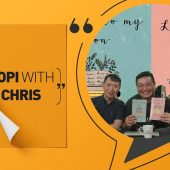 Chris Henson wrote a letter to his son that made him a published author | Kopi With Chris
