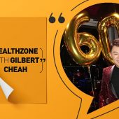 Yes I'm 60! How to age well | Healthzone with Gilbert Cheah