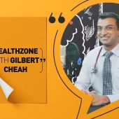 Let's talk about gut health with Dr Ganesh Ramalingam | Healthzone with Gilbert Cheah